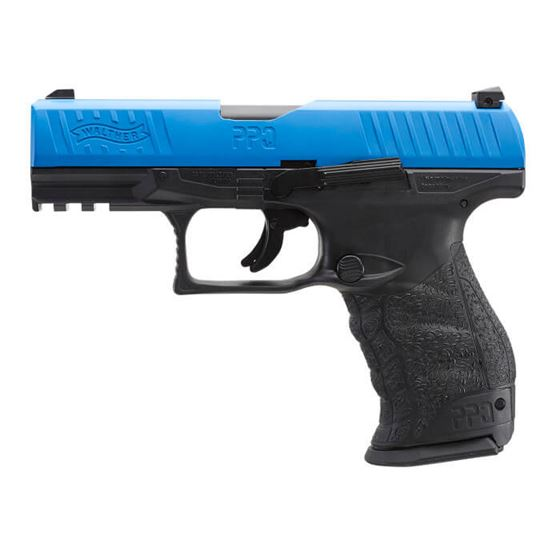 Picture of T4E WALTHER PPQ M2 LE BLUE TRAINING-.43 CAL-BLUE/BLACK